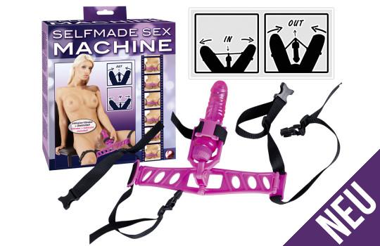 Selfmade Sexmachine inkl. Vibe – Oberschenkel-Dildo