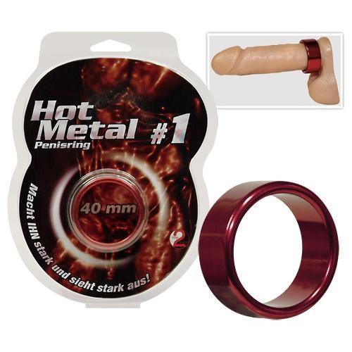 Hot Metal Ring red
