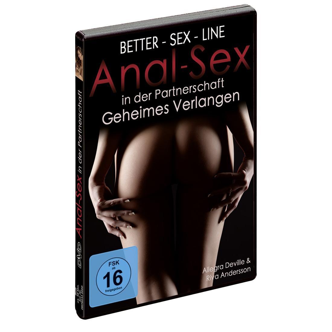Better-Sex-Line  -  Analsex  in  der  Partnerschaft  -  DVD
