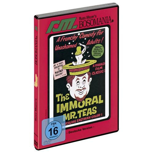 DVD  -  Russ  Meyer  -  The  Immoral  Mr.Teas