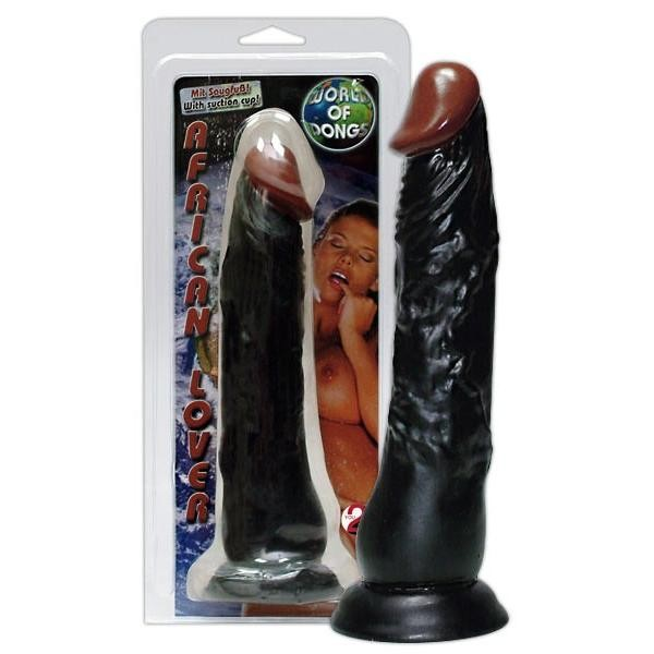 Dildo African Lover Dong Black
