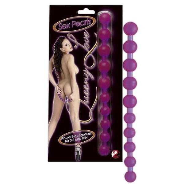 Queeny Love Sex Pearls - Analkugel-Stab