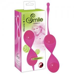 SMILE - Loveballs SPORTY - Liebeskugeln pink