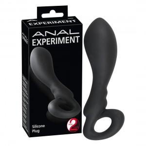 Anal Experiment - Silicone Plug schwarz - Analplug