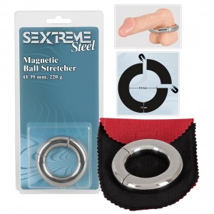 Sextreme - Magnetic Ballstretcher 39 mm - Hodenring