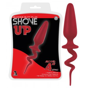 NMC - Shove Up Tail Plug Red