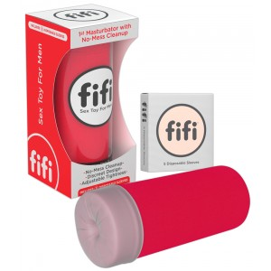 fifi - Red fifi w/5 sleeves