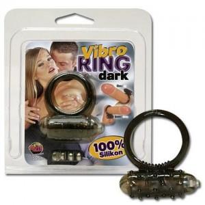 Vibro Ring Dark Silikon
