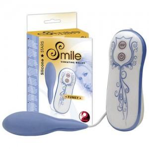 Smile Funky Vibro-Ei Blue