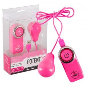 NMC - POTENT X Pink - Vibro-Ei