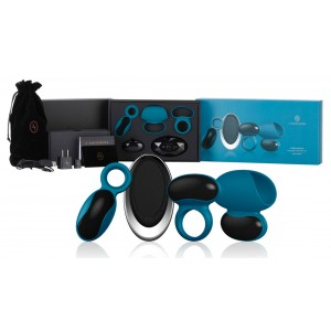 L�AMOUROSE - PARAMOUR pour Homme Deep Teal - Toy Set