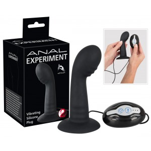 Anal Experiment - Vibrating Silicone Plug
