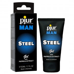 pjur - pjur MAN STEEL Gel Massagegel - 50 ml