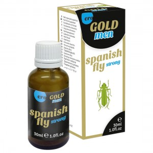 HOT - Spain Fly men GOLD strong - 30 ml
