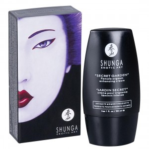 Shunga - Orgasmic Cream Secret Garden - 30 ml