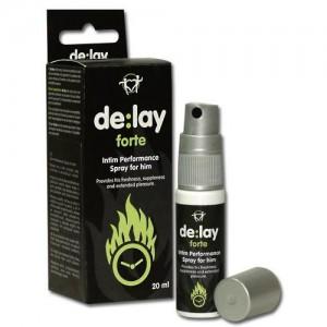 »de:lay forte« Spray - Aktverlängerer - Verzögerungsspray - 20 ml