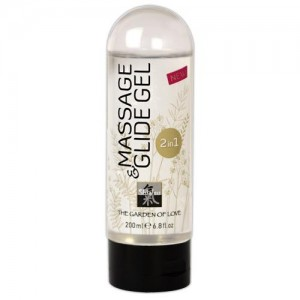 Shiatsu - 2in1 Massage & Glide Gel - 200 ml