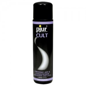 Pjur Cult Dressing Aid - Latex-Pflege - 100 ml