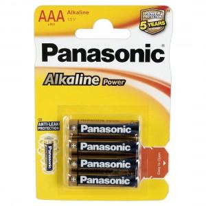 Panasonic - Panasonic Alkaline Micro 4er