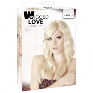 Wigged Love - Perücke Britney blond, gewellt