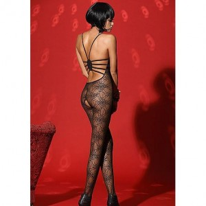 De Namour Lingerie - Bodystocking With Open Crotch