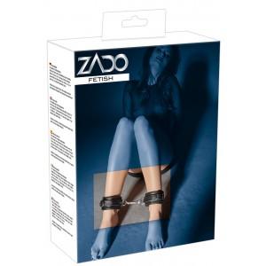 ZADO - Leder-Fußfesseln soft