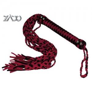 ZADO - 12-schwänzige Leder-Peitsche