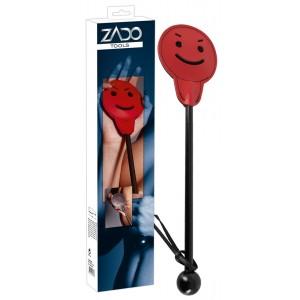 ZADO - Leder Paddel Smiley