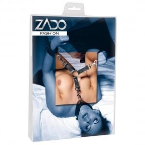 ZADO - Leder HogTie 3 Riemen - Verbindungsriemen
