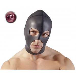 fetish collection - Kopfmaske schwarz