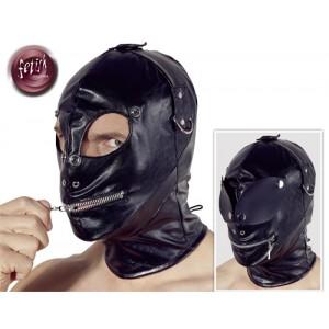 fetish collection - Lederimitat Maske