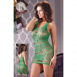 Mandy Mystery lingerie - Kleid grün S-L