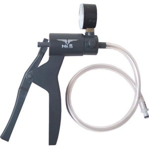 Mister B pump with pressuremeter