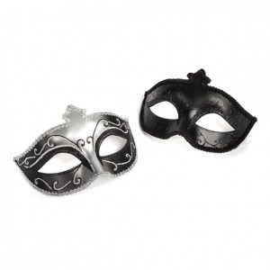 Fifty Shades of Grey - Masquerade Mask Twin Pack - Masken-Set