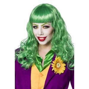 Mask Paradise - Lady Joker Perücke - grün