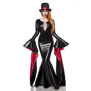 Mask Paradise - Magic Mistress Komplettset - schwarz-rot