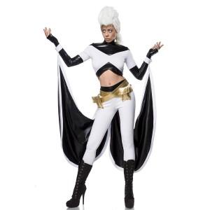 Mask Paradise - Storm Heroine Kostümset - weiß-schwarz