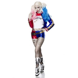 Mask Paradise - Suicide Harley Kostümset - blau-rot-weiß