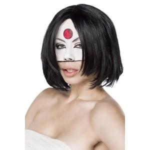 Mask Paradise - Suicide Samurai Perücke - schwarz